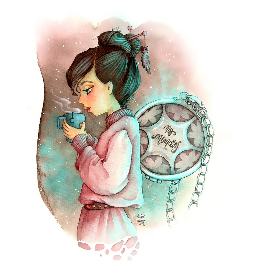 Memorie - Illustrazione Dafne Crocco