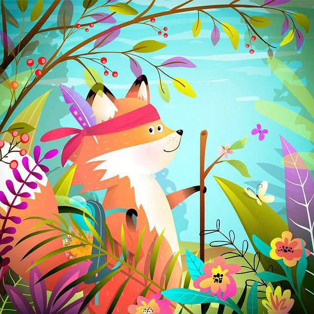 Illustrazioni per infanzia Popmarleo