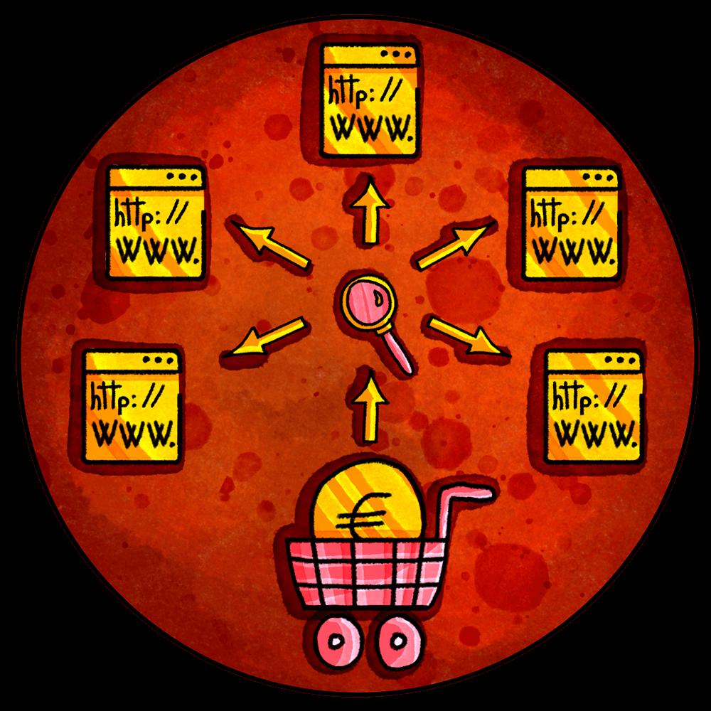 Marketplace e comparatori di prezzo